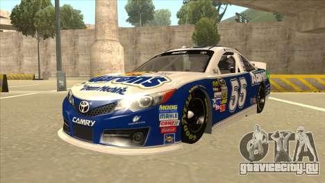 Toyota Camry NASCAR No. 55 Aarons DM blue-white для GTA San Andreas