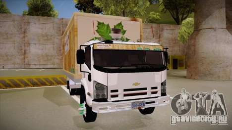 Chevrolet FRR Maple Syrup World для GTA San Andreas вид сзади
