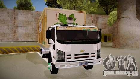 Chevrolet FRR Maple Syrup World для GTA San Andreas вид сзади