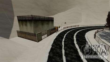 Снежная локация Sakina для GTA 4 третий скриншот