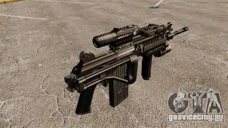 Автоматическая винтовка Galil для GTA 4 второй скриншот