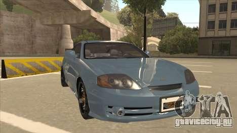 Hyundai Coupe V6 Soft Tuned v1 для GTA San Andreas вид слева