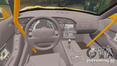 Chevrolet Corvette C4 1996 v1 для GTA 4 вид изнутри
