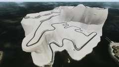 Снежная локация Sakina