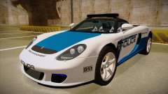 Porsche Carrera GT 2004 Police White