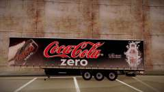 Полуприцеп Sider Coca-Cola Zero для GTA San Andreas