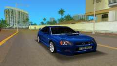 Subaru Impreza WRX STi для GTA Vice City
