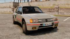 Peugeot 205 Turbo 16 для GTA 4