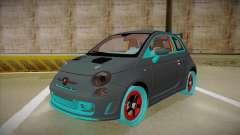 Abarth 500 Esseesse 2010 для GTA San Andreas