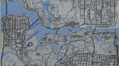Карта в стиле GTA 5