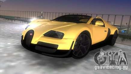 Bugatti Veyron Grand Sport Vitesse для GTA Vice City