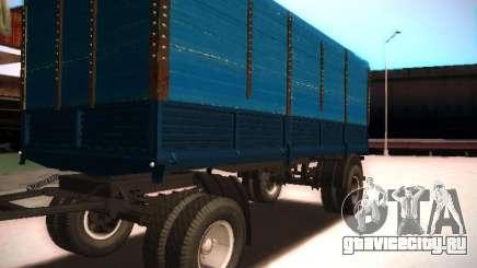 Прицеп к КамАЗ 5320 для GTA San Andreas