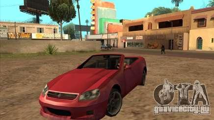 Benefactor Feltzer из GTA 4 для GTA San Andreas