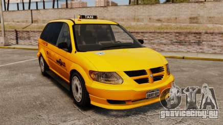 Dodge Grand Caravan 2005 Taxi NYC для GTA 4