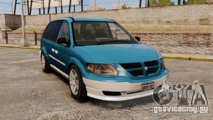 Dodge Grand Caravan 2005 для GTA 4