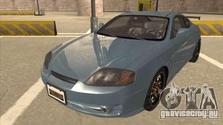 Hyundai Coupe V6 Soft Tuned v1 для GTA San Andreas