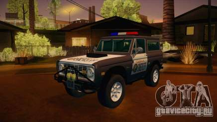 Ford Bronco 1966 Sheriff для GTA San Andreas