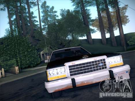 Ford LTD Crown Victoria 1985 для GTA San Andreas вид сзади