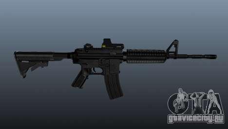 Автоматический карабин M4A1 Tactical для GTA 4 третий скриншот