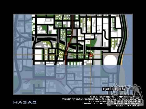 Новые Худ и иконки на карте для GTA San Andreas четвёртый скриншот