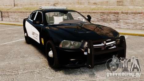 Dodge Charger 2013 LCPD STL-K Force [ELS] для GTA 4