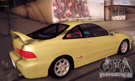 Honda Integra Drift для GTA San Andreas вид справа