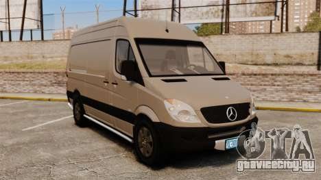 Mercedes-Benz Sprinter 2500 2011 v1.4 для GTA 4