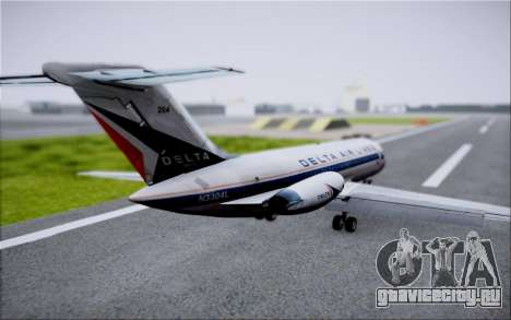 McDonnel Douglas DC-9-10 для GTA San Andreas двигатель