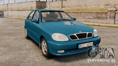 Daewoo Lanos PL 2001 для GTA 4