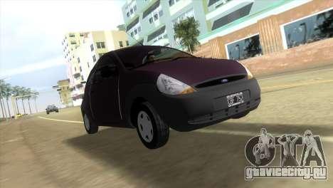 Ford Ka для GTA Vice City вид слева