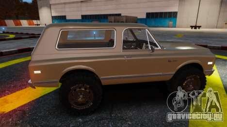 Chevrolet Blazer K5 1972 для GTA 4 салон