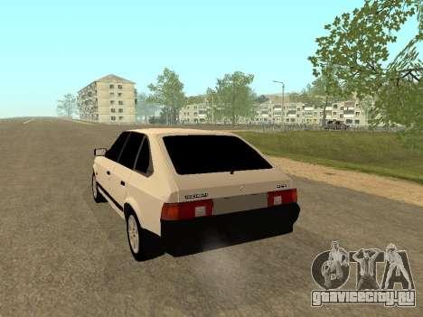 Москвич 2141 для GTA San Andreas вид справа
