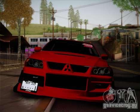 Mitsubishi Evolution VIII для GTA San Andreas