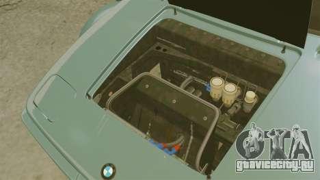 BMW M1 [EPM] для GTA 4 вид изнутри