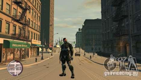 Crysis NanoSuit для GTA 4