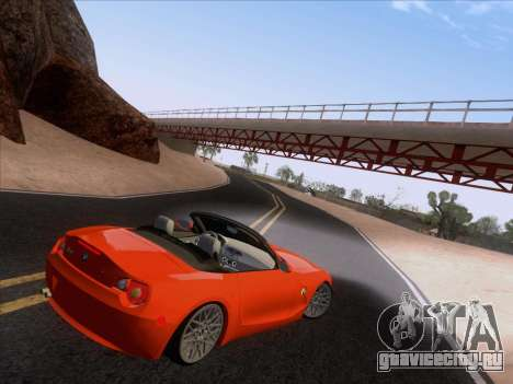 BMW Z4 Edit для GTA San Andreas вид сзади слева