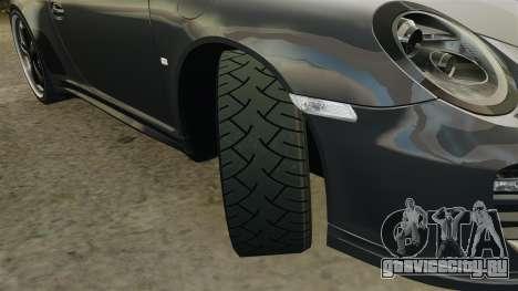 Porsche 911 Sport Classic 2010 для GTA 4 вид сбоку