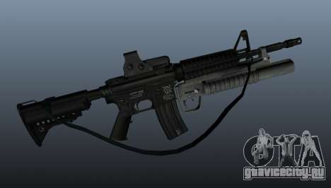 Автоматический карабин M4A1 v3 для GTA 4 третий скриншот