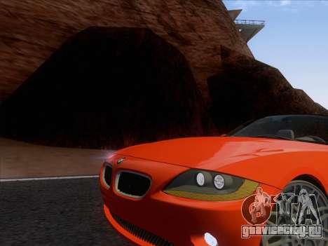 BMW Z4 Edit для GTA San Andreas вид слева