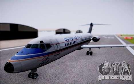 McDonnel Douglas DC-9-10 для GTA San Andreas вид справа