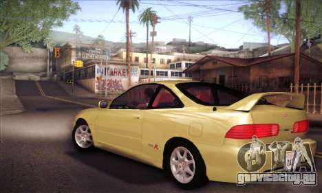 Honda Integra Drift для GTA San Andreas вид слева