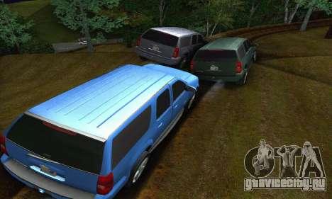 Chevrolet Suburban 2008 для GTA San Andreas вид сбоку