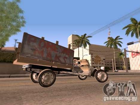 Citroen 2CV (Diana) для GTA San Andreas вид сзади слева