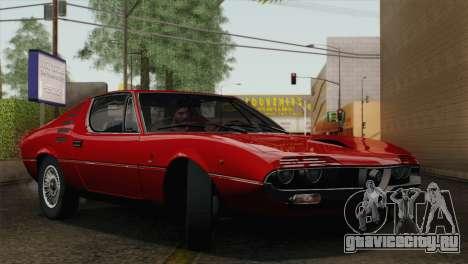 Alfa Romeo Montreal (105) 1970 для GTA San Andreas вид сверху