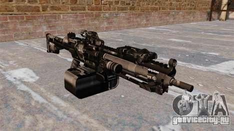 Единый пулемёт HK23E для GTA 4