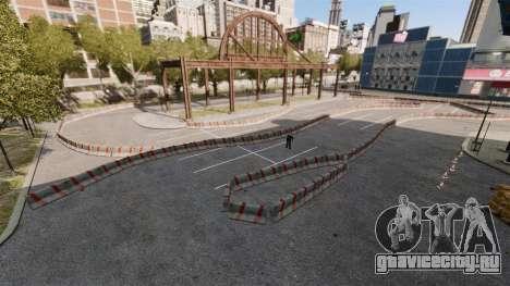River Side Drift Track для GTA 4 третий скриншот