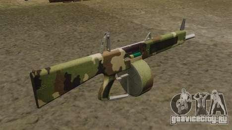 Автоматическое ружьё AA-12 Camo v2 для GTA 4 второй скриншот