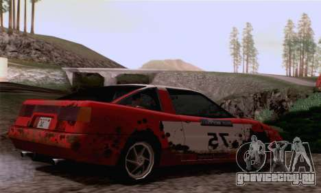 Uranus Rally Edition для GTA San Andreas вид справа