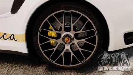 Porsche 911 Turbo 2014 [EPM] America для GTA 4 вид сзади