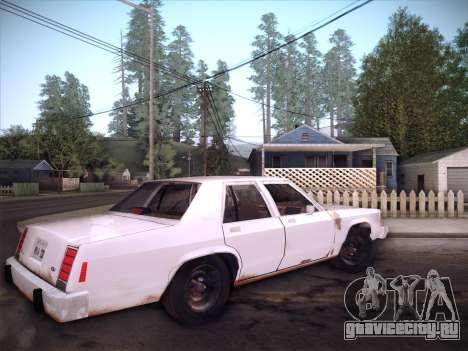 Ford LTD Crown Victoria 1985 для GTA San Andreas вид сверху